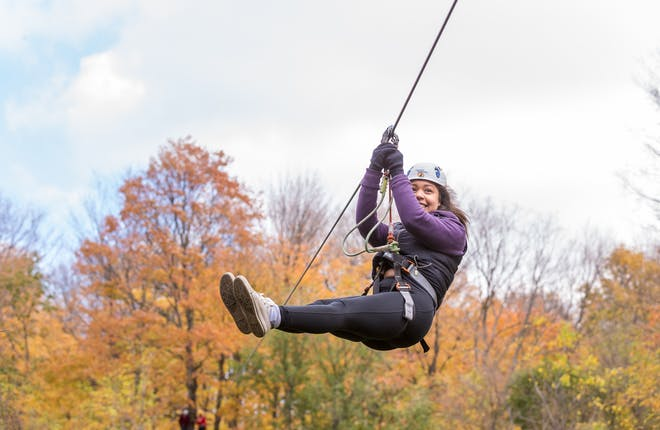 Treetop Trekking in York Durham Headwaters: The Only Line You'll Zip Right Through