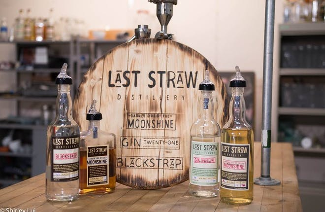 Big Red Visits Last Straw Distillery