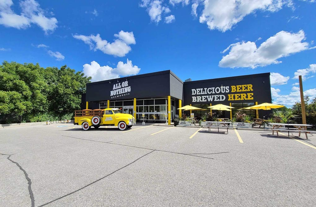 Oshawa's All or Nothing Brewhouse: A Community Hub