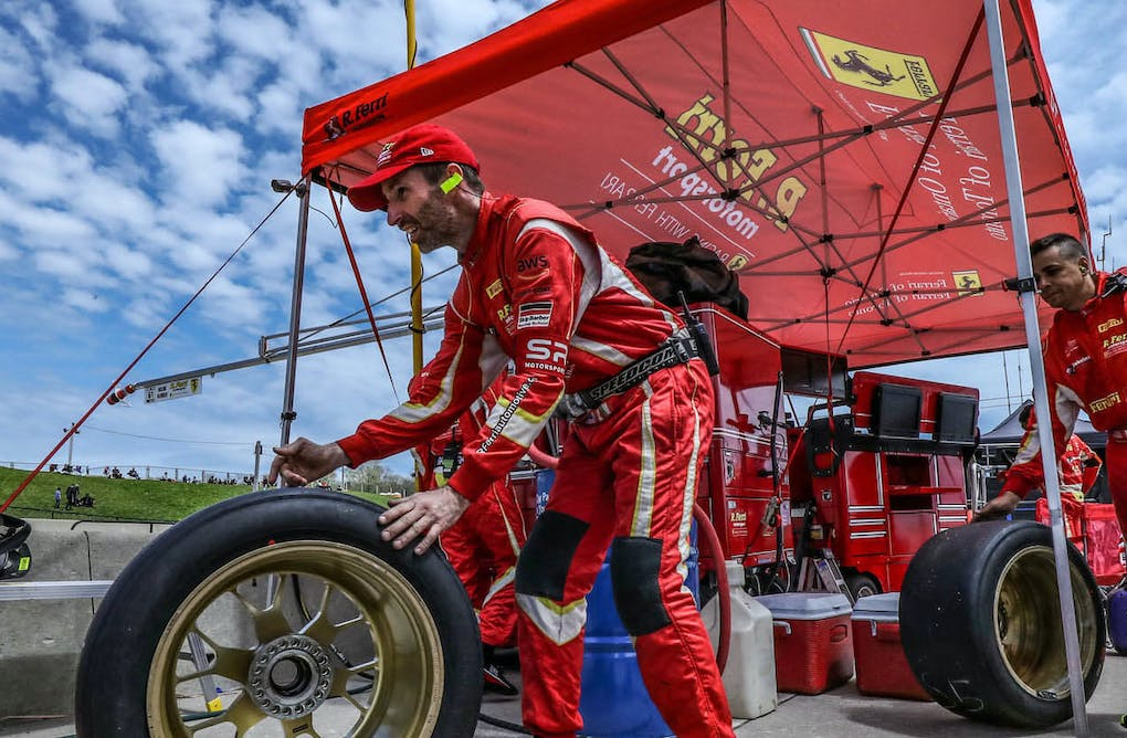 Seconds to Spare: Racing Pit Crews Face Big Pressure