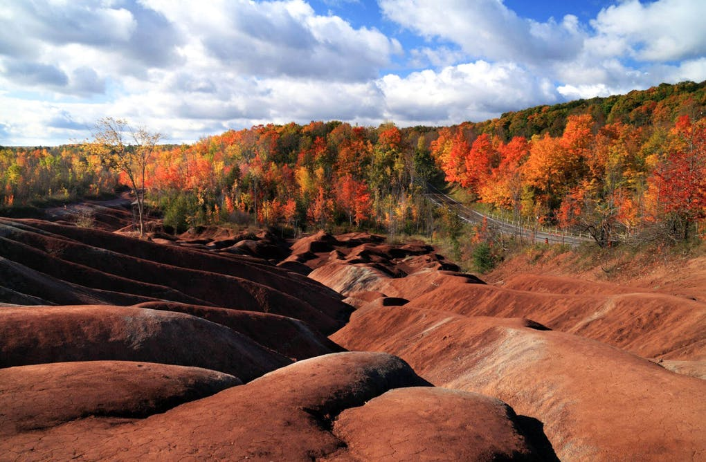 Fall for the Cheltenham Badlands