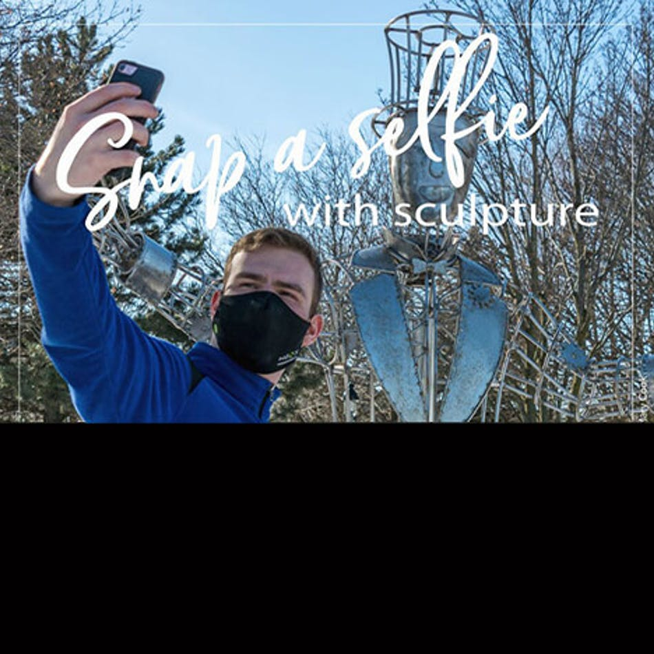 Snap a Selfie with Sculpture