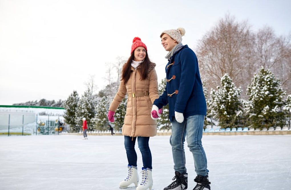 Where to Go Ice Skating in Central Counties