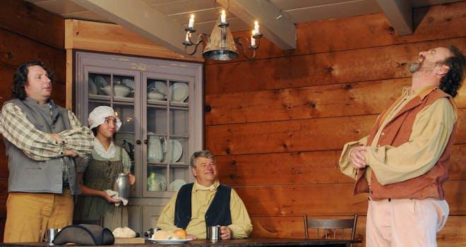 Petticoat Creek and Pioneers
