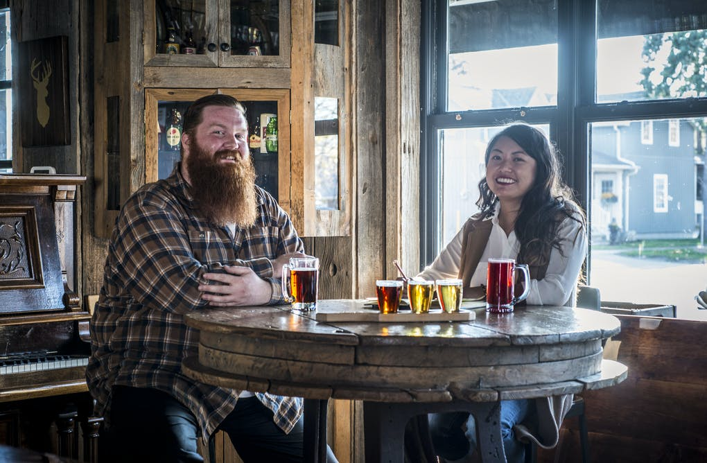 A Winter Escape to Old Flame Brewing Co.