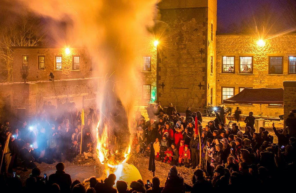 Alton Mill Fire and Ice Festival