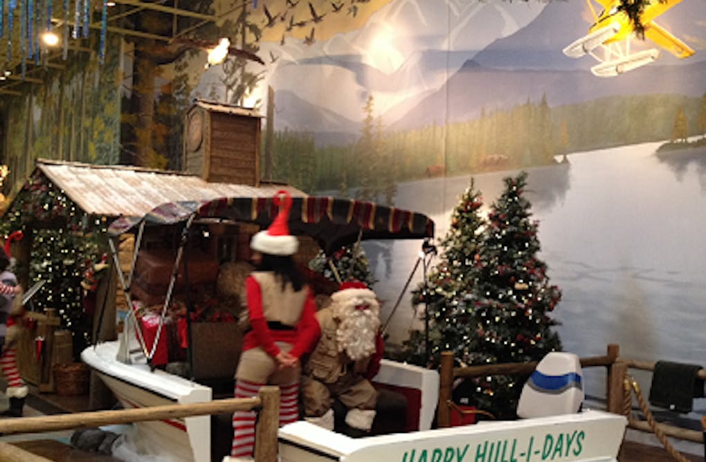 A Unique Santa Experience: Fishing with Santa at Vaughan Mills