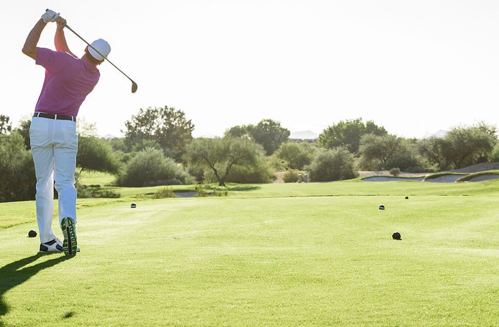 Golf Driving Range Staycation Package