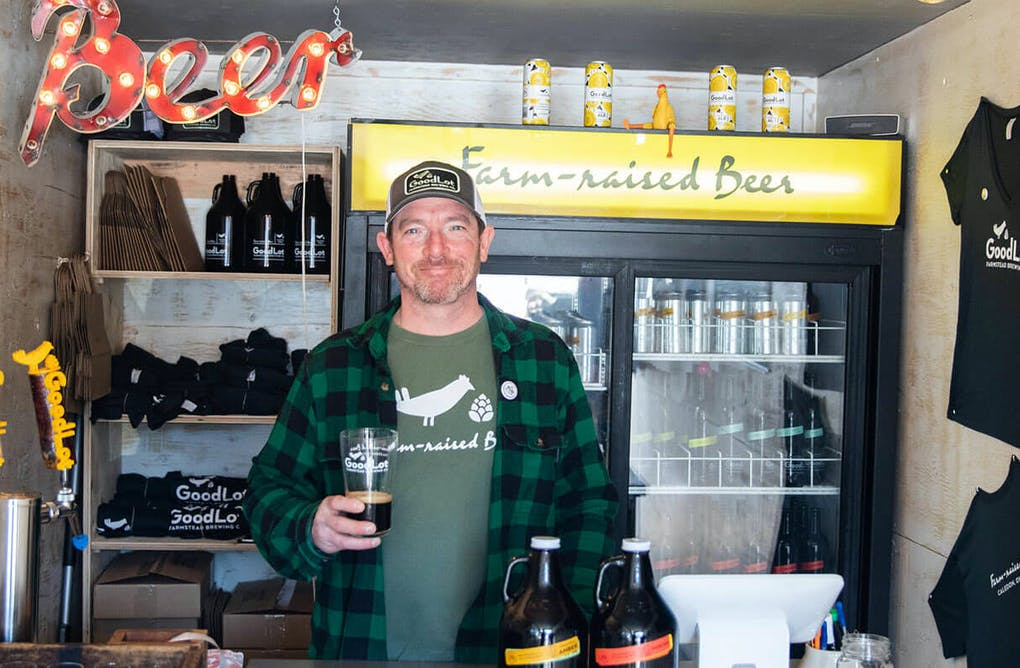 Farm-to-Barrel Beer at GoodLot Farmstead Brewing Company