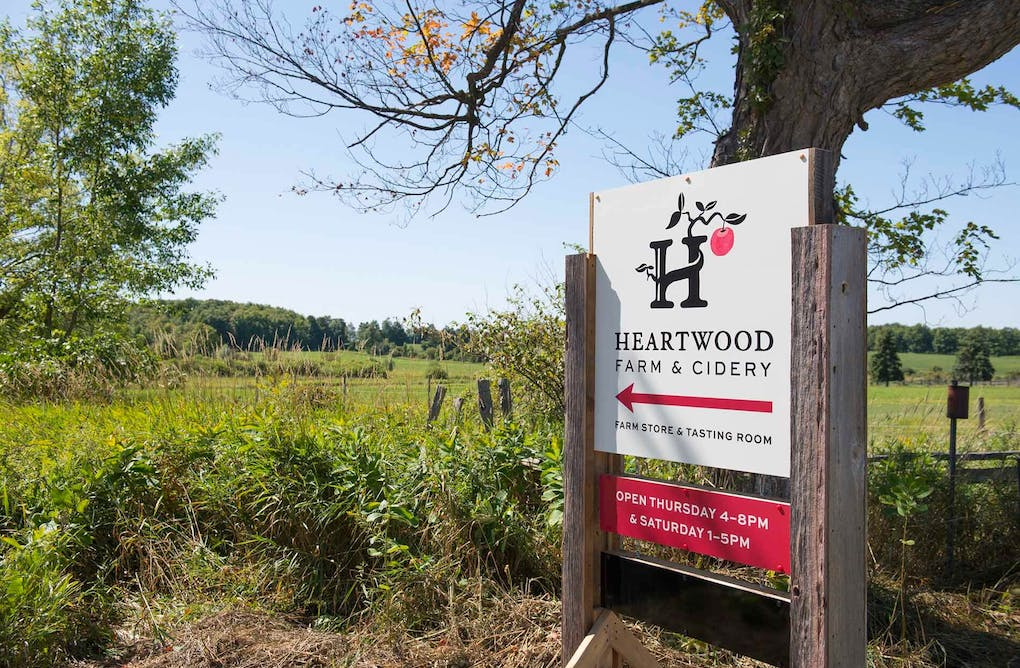 Taste the Land at Heartwood Farm and Cidery
