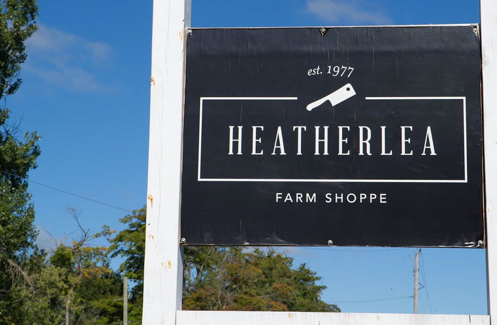 Local Ontario Beef at Heatherlea Farm Shoppe