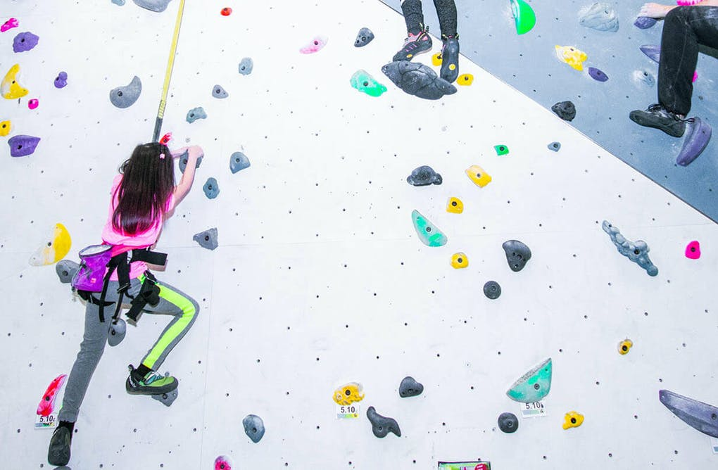 Getting Fit and Having Fun at Hub Climbing