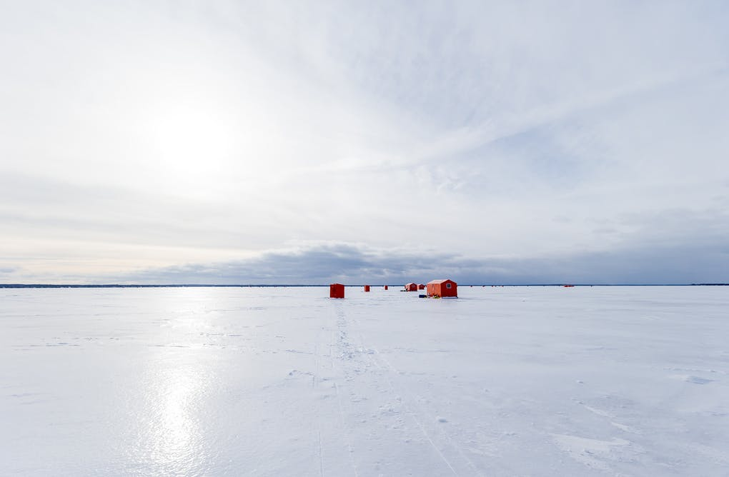 Lake Simcoe's Ice Harvest