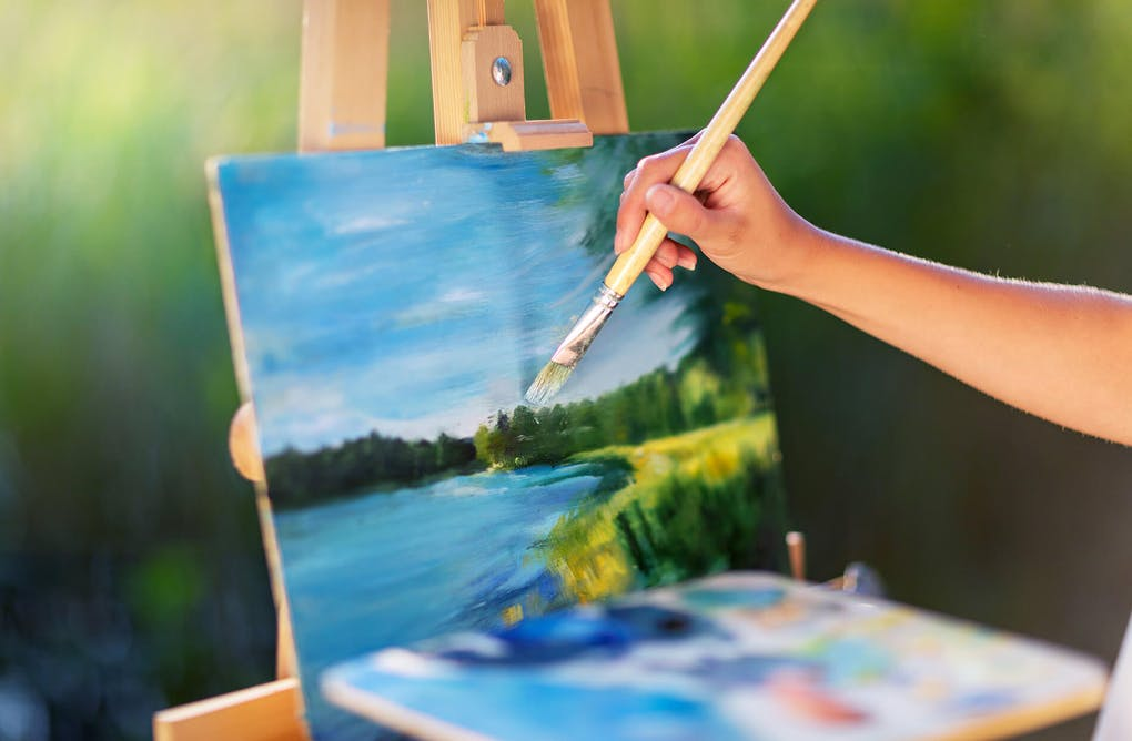 McMichael's Virtual En Plein Air Competition… What Is En Plein Air?