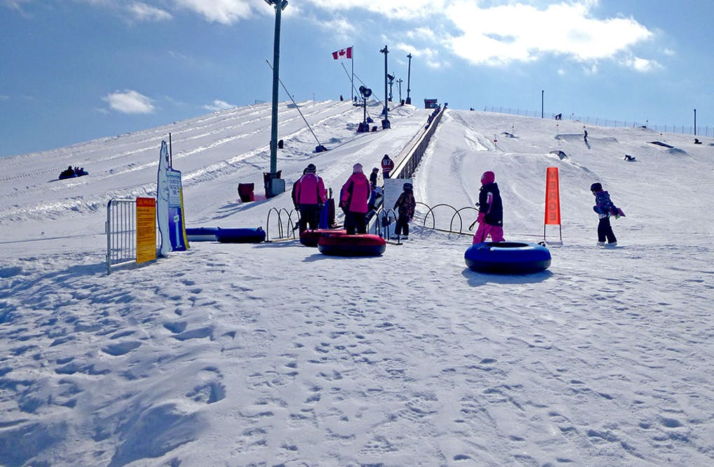 Finding the Child Within You – Experiencing Snow Tubing at the Georgina ROC
