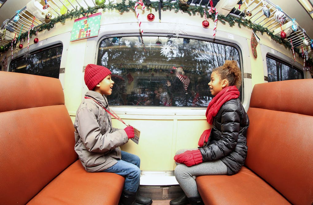 All Aboard the Santa Train at York-Durham Heritage Railway