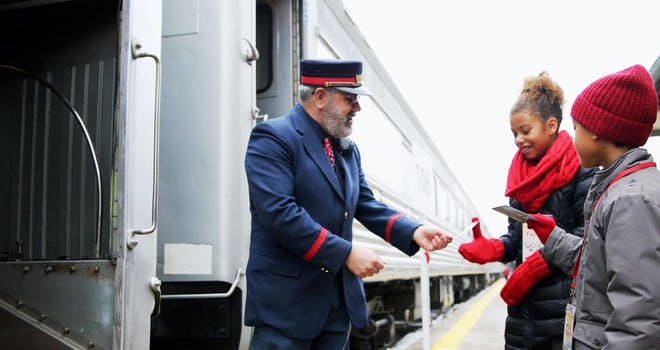 All Aboard With Santa