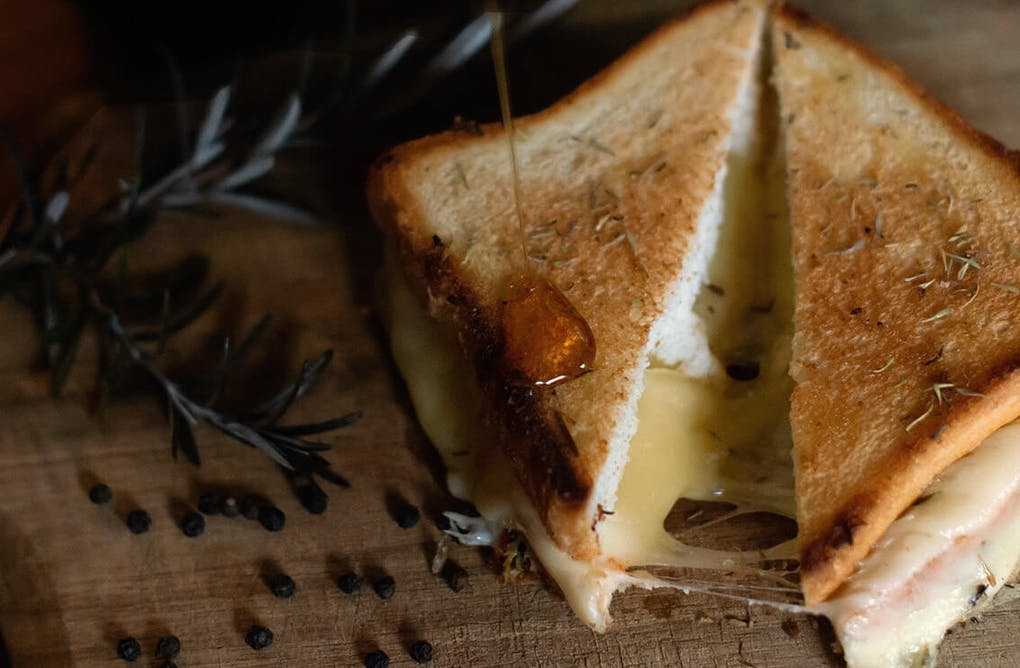 Fancy Maple Grilled Cheese