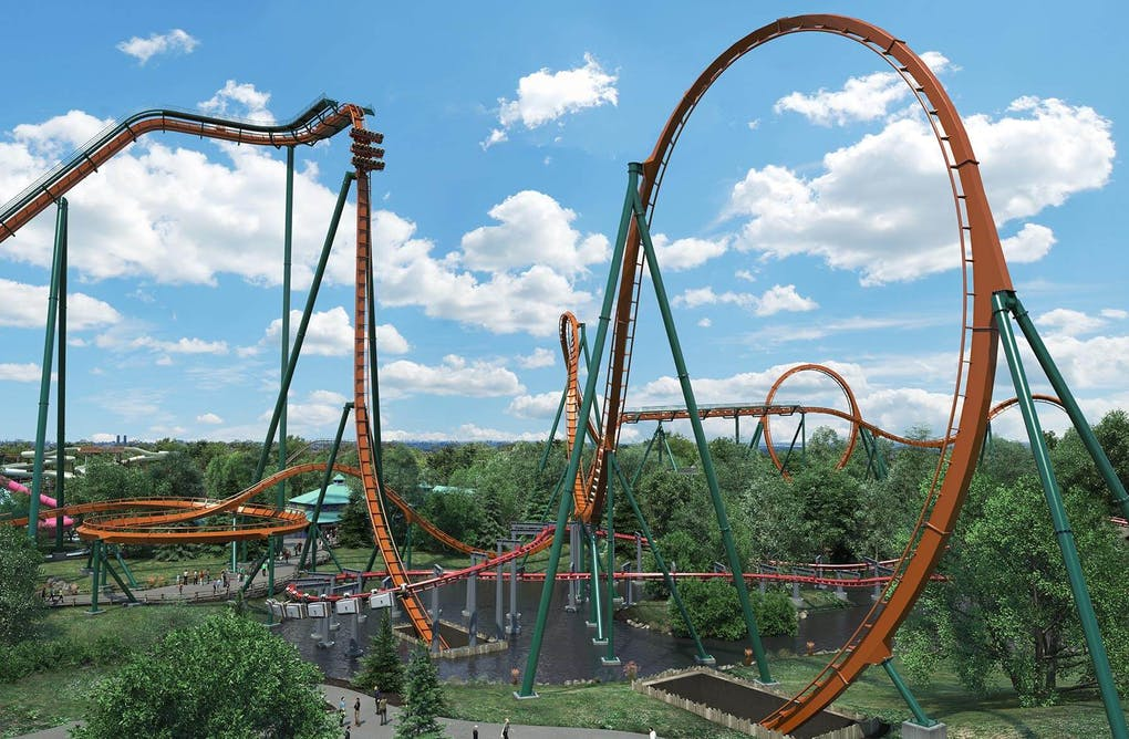 Virtual Coasters at Canada's Wonderland