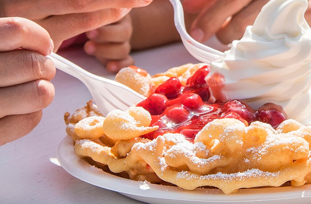 Make Your Own Wonderland Funnel Cake